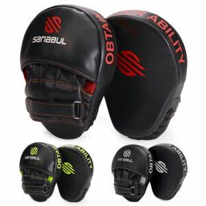 Sanabul training pads punching mitts