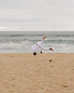 Capoeira martial arts moves