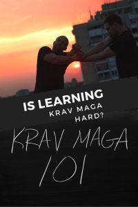 Is learning Krav maga hard_